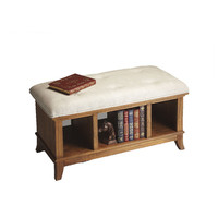 Linwood Storage Bench in Sandy Shore