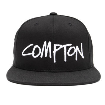 Stussy - World Tour Cities Snapback Cap (Compton)