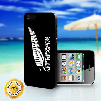 New Zealand All Blacks - For iPhone 4/4s, iPhone 5, iPhone 5s, iPhone 5c case. Please choose the option