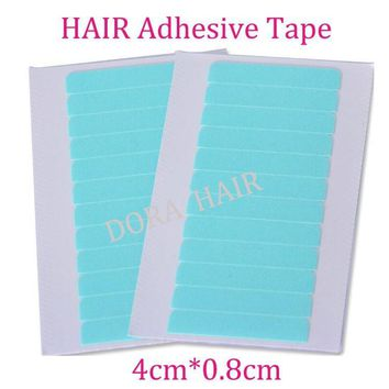 20 sheets 240 pcs 4cm*0.8cm CPAM SUPER HAIR TAPE Adhesive Double Side Tape for remy human hair, tools for hair extension