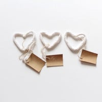 24 Table Name Holders, Wedding Placecards, Heart Wedding Favor, Place Card Holder, Wedding Favors, Wedding Table Decor,  Custom Card Holder
