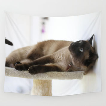 What's Up? Wall Tapestry by Theresa Campbell D'August Art