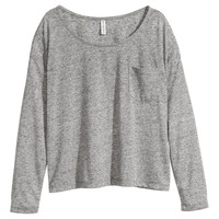H&M - Wide-cut Jersey Top