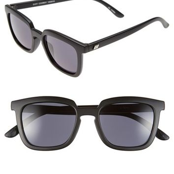 Women's Le Specs 'Easy Cowboy' 54mm Retro Sunglasses