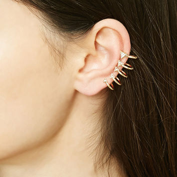 Caged Ear Cuffs