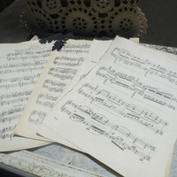 50% of this item, enter LOVE99 at checkout.  Vintage Music Sheets, Gift Wrap, Christmas Gift Wrap, Music Sheets, DIY, Wedding