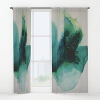 Anahata (Heart Chakra) Window Curtains by duckyb
