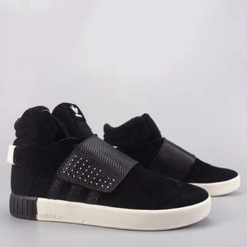 Adidas Tubular Invader Strap Fashion Casual High-Top Old Skool Shoes-23