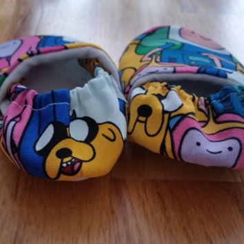 Adventure Time Soft Sole Infant Toddler Shoes, Adventure Time Baby Stuff, Crib Shoes, Baby Booties