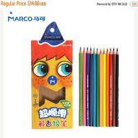 10% OFF Children Art Set Colored Pencils Kids Art Set (12 Pack) Art Supplies Childrens Paint Sets for Kids Colouring Sets Painting Kits for