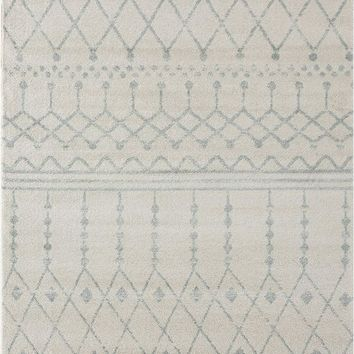 2099 Ivory Farmhouse Bohemian Area Rugs