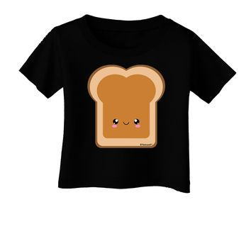 Cute Matching Design - PB and J - Peanut Butter Infant T-Shirt Dark by TooLoud