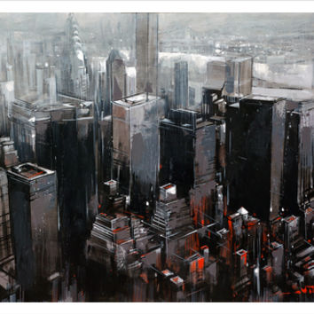 NEW YORK Art Print by Van Tame