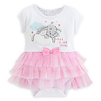 Dumbo Disney Cuddly Bodysuit with Tutu for Baby