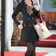 New Womens Long Sleeve Slim Fit Trench Double Breasted Coat Jacket Scarf Outwear