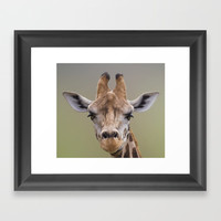 I Am Beautiful Framed Art Print by Linsey Williams Art