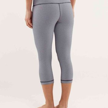 wunder under crop *gingham | lululemon athletica