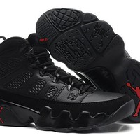 Beauty Ticks Dicount Air Jordan Retro 9 Black/red Aj9 Cheap Sale Jd 9 Men Sports Basketball Shoes