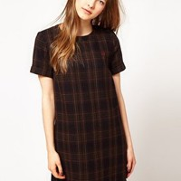 Fred Perry Checked Shift Dress at asos.com