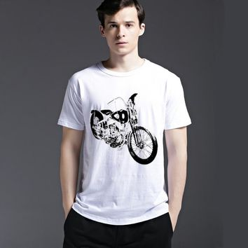Tee Casual Cotton Strong Character Summer Short Sleeve Men's Fashion Creative T-shirts = 6451313411