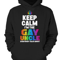 Christmas Hoodie- I am the gay uncle -Unisex Hoodie - SSID2016