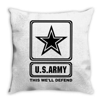 us army this we'll defend Throw Pillow