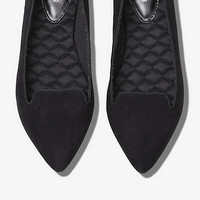 POINTED TOE SMOKING SLIPPER from EXPRESS