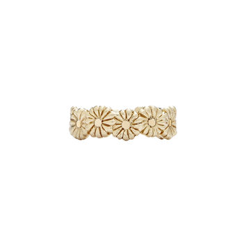 Montauk Daisy Flower Ring