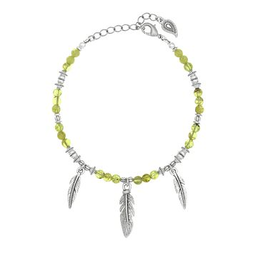 WILD HEART Feather Anklet