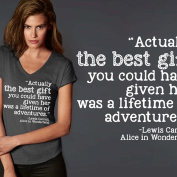 The Best Gift T-shirt | Alice in Wonderland