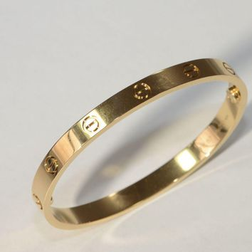 One-nice? Cartier 18kt Yellow Gold Love Bracelet - Authentic