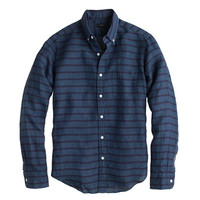 J.Crew Mens Slim Irish Linen Shirt In Stripe