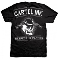 Cartel Ink Respect Is Earned Mens T-shirt