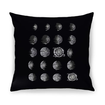 That's No Moon! Throw Pillow