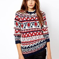 Mango Novelty Jumper