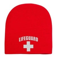 Lifeguard Knit Beanie