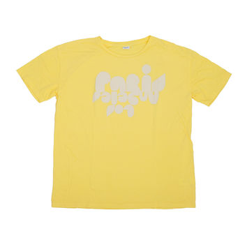 Paris Los Angeles Tshirt - Yellow