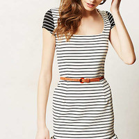 Inverse Stripe Day Dress