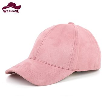Trendy Winter Jacket New Baseball Cap New Brand Caps Casual Suede Snapback Hat Gorra Hombre Solid Cappello Hip Hop Baseball Casquette AT_92_12