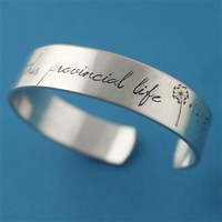 Belle Cuff Bracelet - This Provincial Life - Spiffing Jewelry