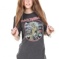 Brandy ♥ Melville |  Iron Maiden Tee - Graphic Tops - Clothing