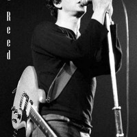 Lou Reed Rock and Roll Heart Poster 11x17