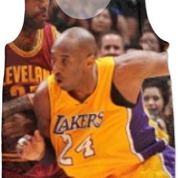 lebron on kobe shirt  number 1