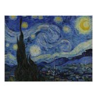 Starry Night Perfect Posters   Starry Night Perfect Poster Designs