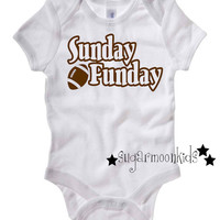 Football Baby Onesuit