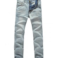 Men Fashion Korea Cat Feet Beard Column or Sheath As PictureJeans XS/S/M/L/XL/XXL@SJ00142ap $23.92 only in eFexcity.com.