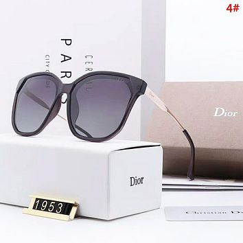 DIOR Fashion New Polarized Sun Protection Eyeglasses Glasses Women 4#