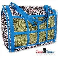 Classic Equine Western Horse Tack Stable Top Load Hay Bag Tote
