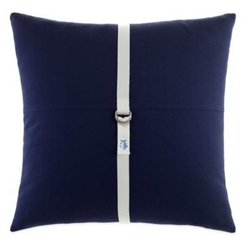 Southern Tide® Starboard Square Throw Pillow in Navy