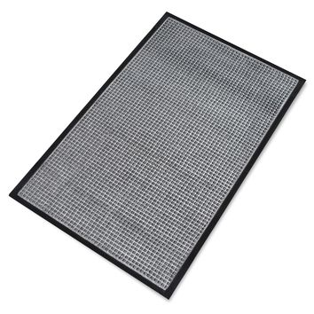 Rub-Poly Multi Utility Indoor/Outdoor Scraper Doormat (Grey)